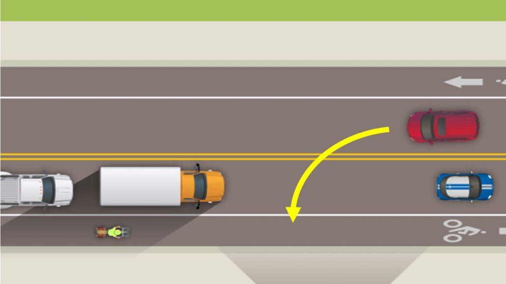bike lane accident