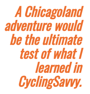The ultimate test of savvy cycling.