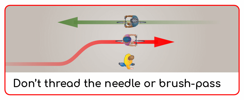 don't thread the needle