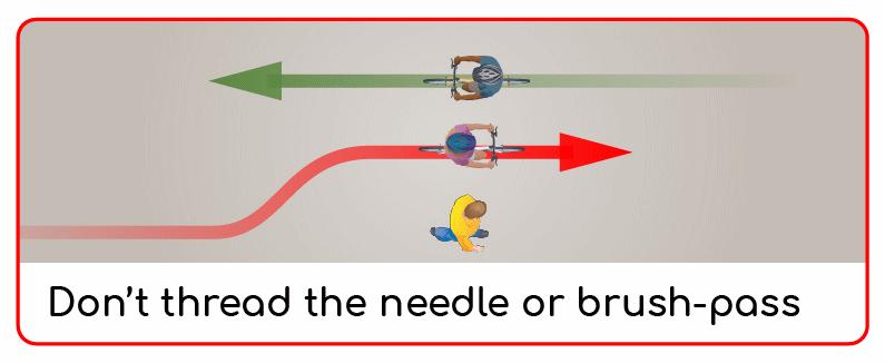 don't thread the needle