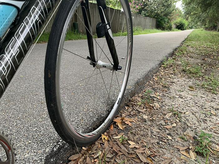 pavement lip on path