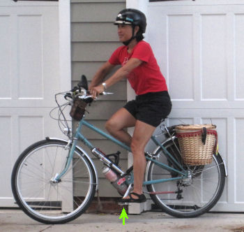 A bicycle that fits is safer to ride, and more comfortable