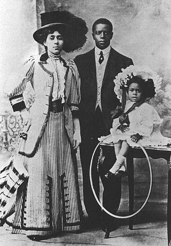 Major Taylor and family