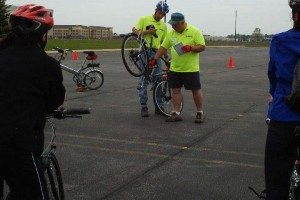 Learning about gearing during Train-Your-Bike