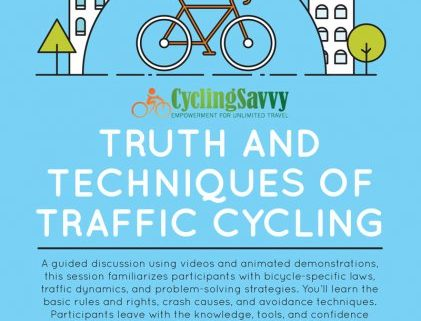Eccentric Cafe Truth and Tehcniques of Traffic Cycling