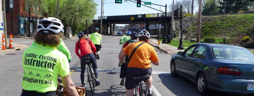 A CyclingSavvy tour