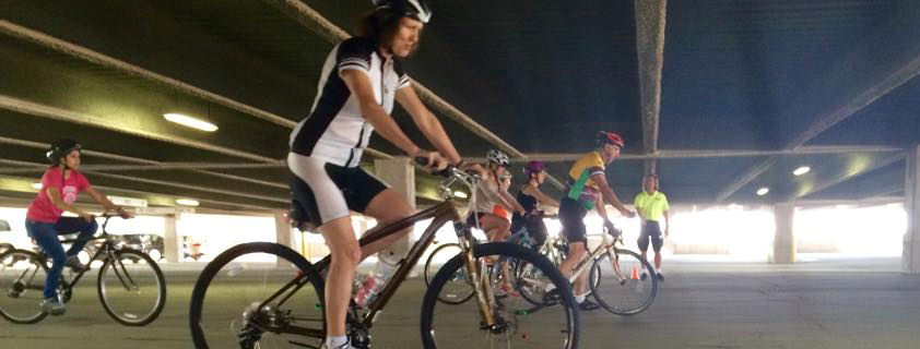 A CyclingSavvy Train Your Bike session