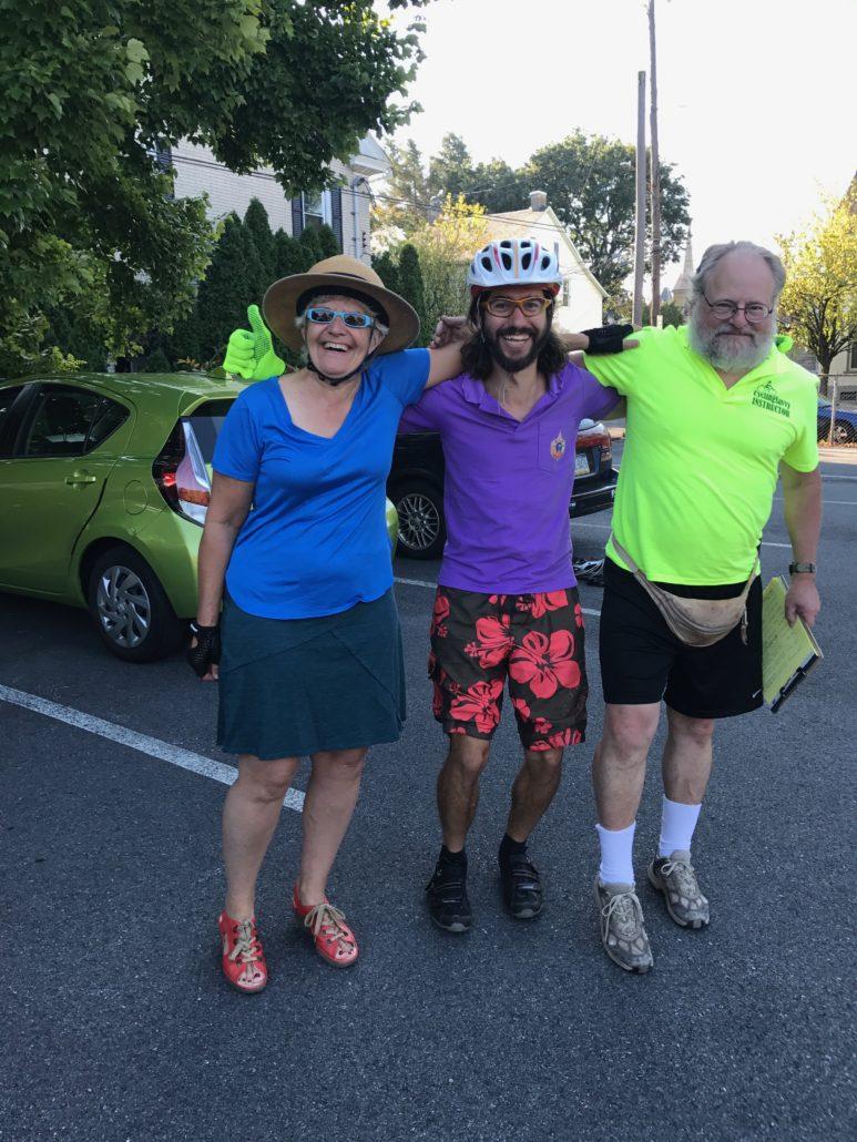 Cycling royalty in Pennsylvania's Lehigh Valley.
