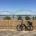 View of my bike and Hernando Desoto Bridge from Mud Island River Park in Memphis.