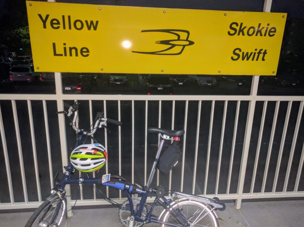 """Documenting a turning point in """"going anywhere"""" by bike."""