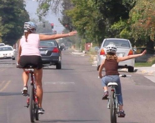 Savvy cycling, at all ages.