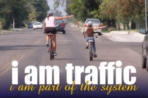 We respect ourselves, and know that when riding our bicycles, our safety is a product of our behavior.