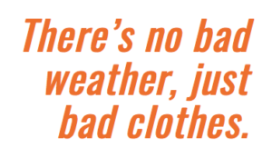 No need to let cold weather separate you from your bike.