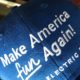 "cap says ""Make America Fun Again"" with bikes"