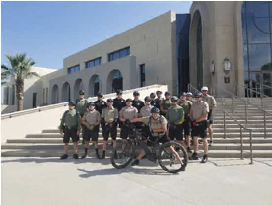 CA Post bike patrol