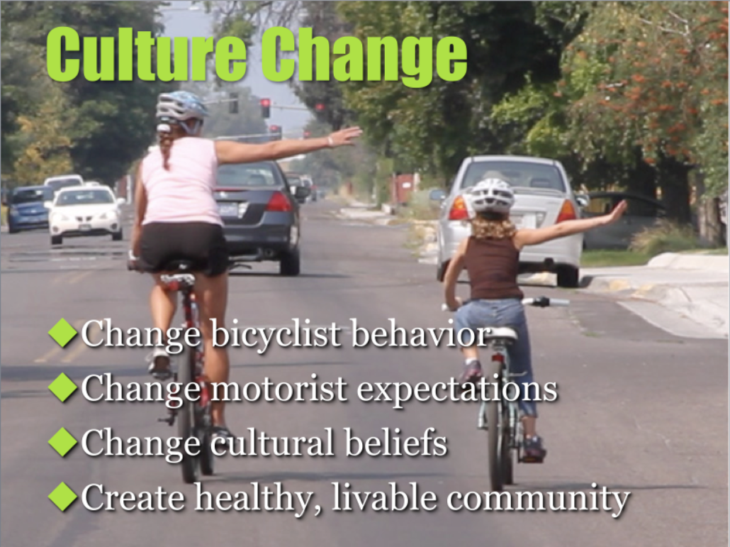 how to change American bicycle culture