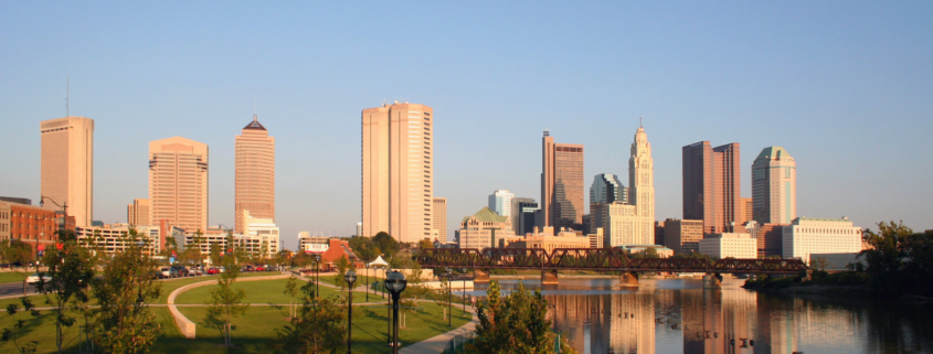 Columbus Ohio Skyline Panoram