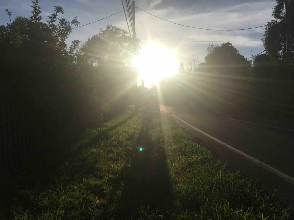 sun glare driving