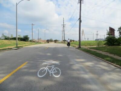 cyclist far right law