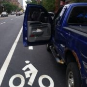 bike lane dooring
