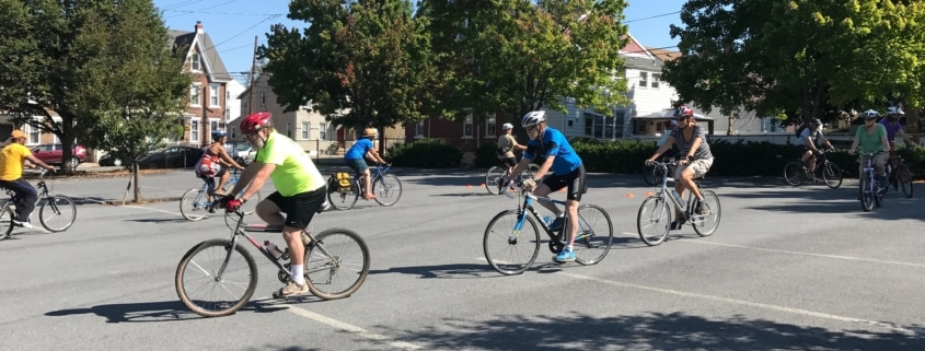 bike handling drills