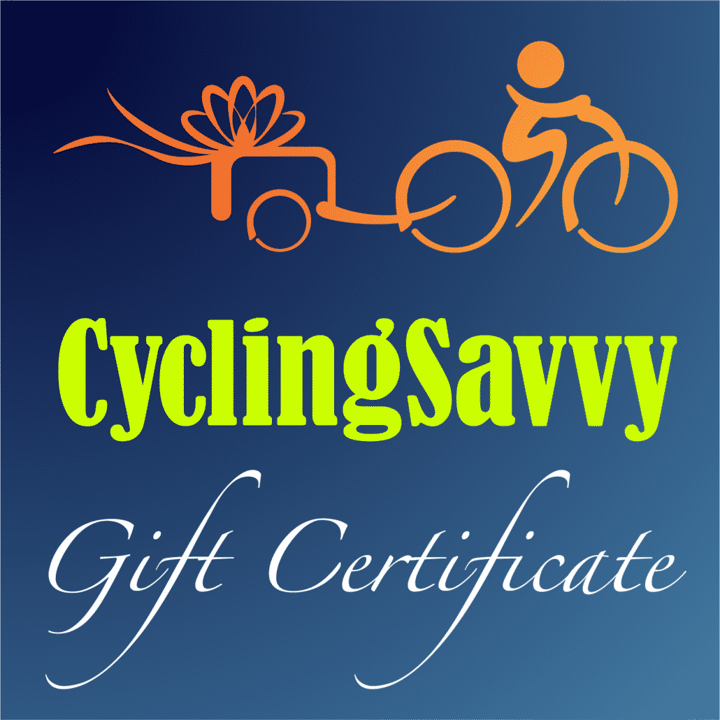 cyclingsavvy gift certificate