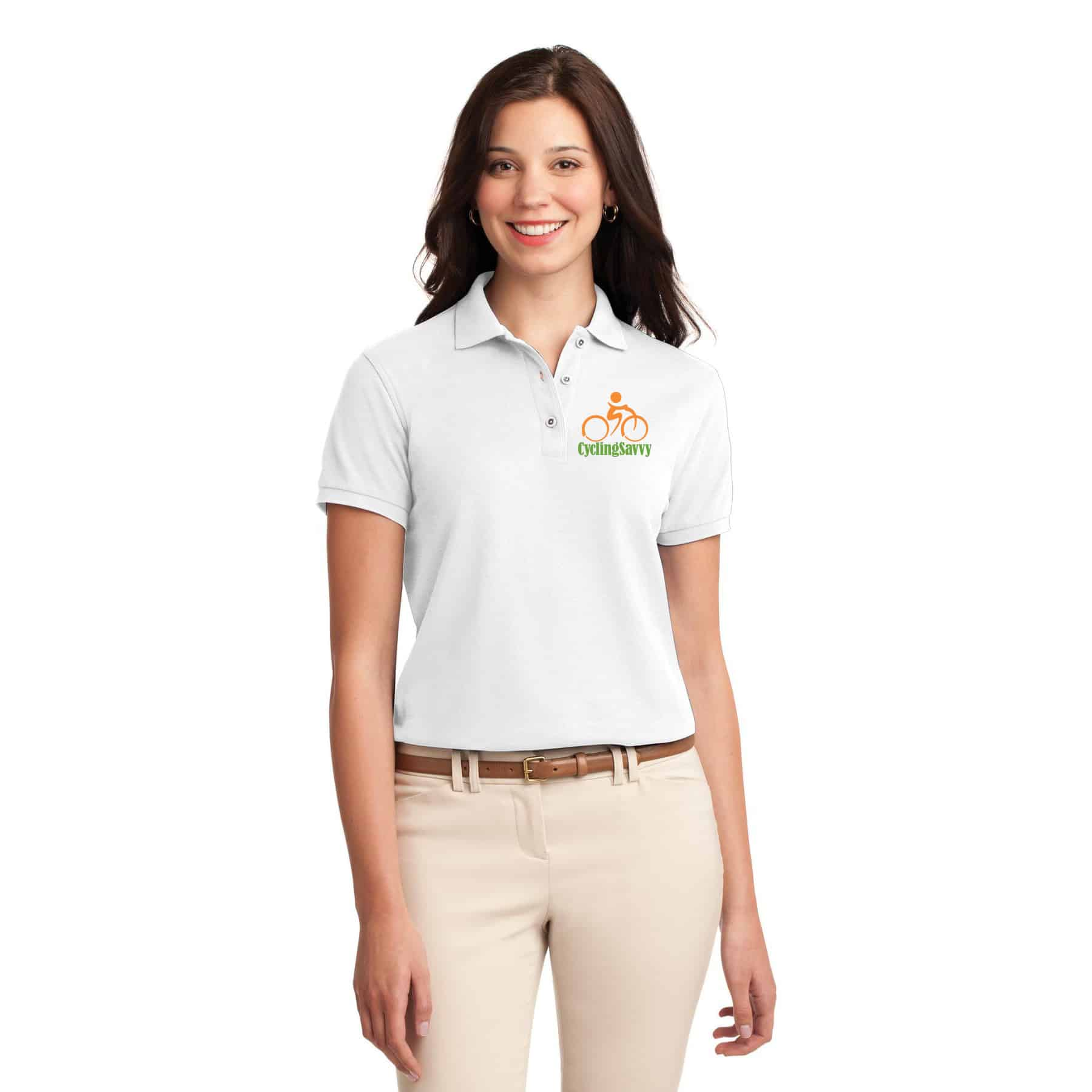 Embroidered Polo Shirts For Women Cyclingsavvy