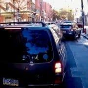 downtown philadelphia bike lane