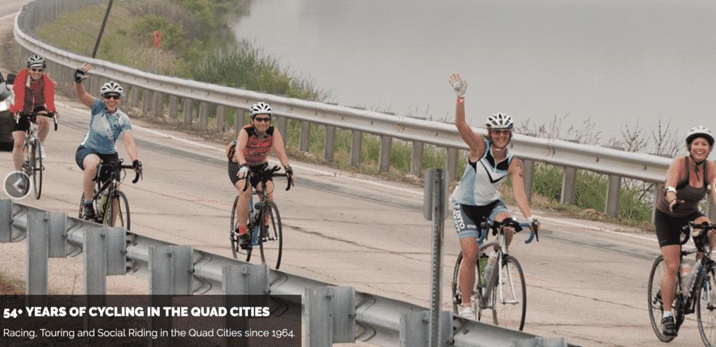 riding bikes quad cities
