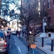 spruce street bike lane philadelphia