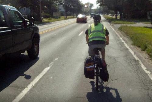 Eli Damon Rides Route 9