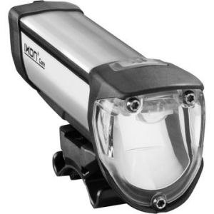 a shaped-beam headlight. Note the scoop-shaped internal mirror.