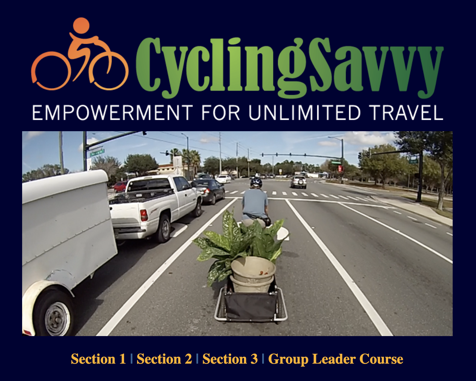 cycling savvy course slide