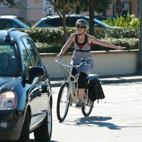 Nasic bicycling skills: hand signaling