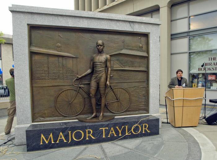 Major Taylor monument