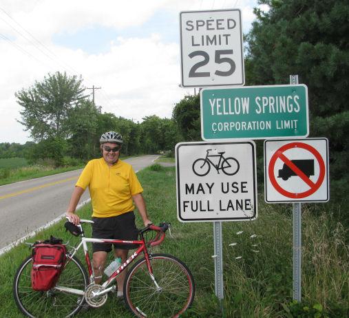 Dan Carrigan with a BMUFL sign